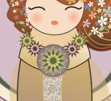 Kokeshi Art nouveau Sticker