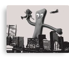 When Gumby Attacks Canvas Print
