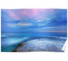 The Ocean at Dusk Poster