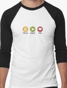 Cute Controller for Kids & Babies Men's Baseball ¾ T-Shirt