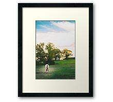 LITTLE HORSE ON THE PRAIRIE Framed Print