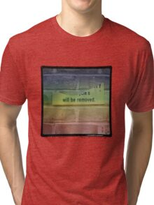 Giles Babel - track 3 (title pending) Tri-blend T-Shirt