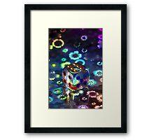 Starcube Framed Print