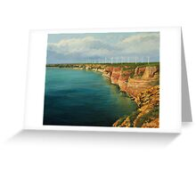Land of The Winds Greeting Card