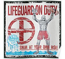 The Lifeguard Creature Is On Duty (2) Poster