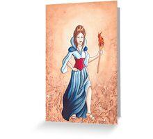 Britannia Greeting Card