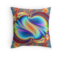 Crystal Treasure Throw Pillow