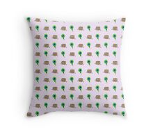 Tiny Box Tim/ Septic Eye Sam  Throw Pillow
