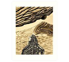 Escaping Arrakis  Art Print