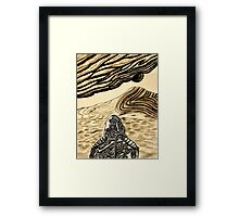 Escaping Arrakis  Framed Print
