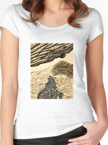 Escaping Arrakis  Women's Fitted Scoop T-Shirt