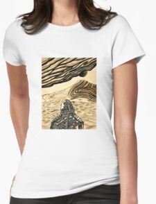 Escaping Arrakis  Womens Fitted T-Shirt