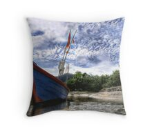 """Longtails of Khao Lak"" Throw Pillow"