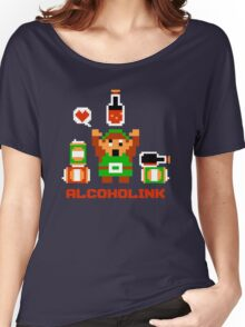 Alcoholink Women's Relaxed Fit T-Shirt