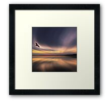 Golden Eagle Dawn by David Alexander Elder Framed Print