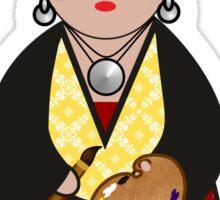Kokeshi Frida  Sticker
