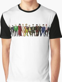 Doctor Who - 13 Doctors lineup Graphic T-Shirt