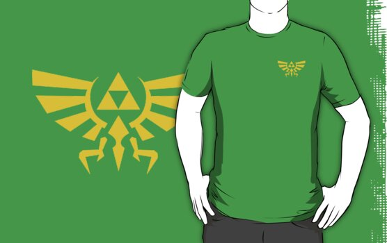 Hylian Crest by James Anthony