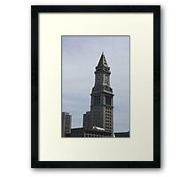 Mariott State House Boston Framed Print