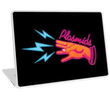 """Plasmids"" sign Laptop Skin"