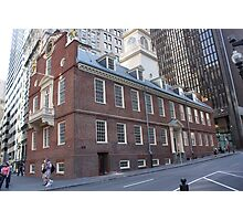 Boston Massacre Photographic Print