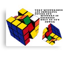 Continuum Transfunctioner Black Text Canvas Print