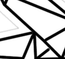 Origami Dragon Stylie Sticker