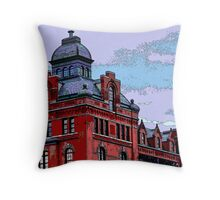 """""""Stegmaiers Brewery"""" Throw Pillow"""