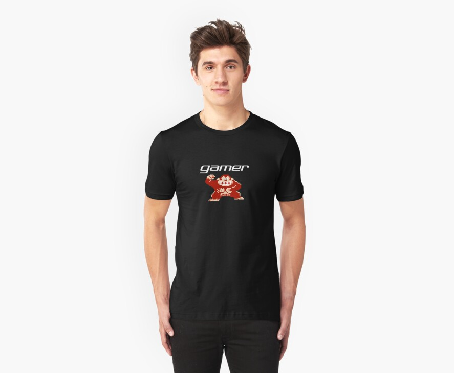 Gamer - Donkey Kong by Sarah Kittell