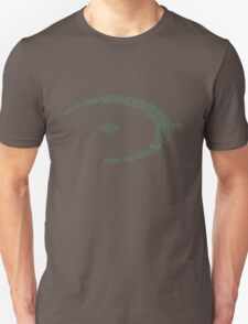 Halo Typography [Green] Unisex T-Shirt