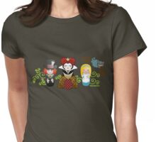 Kokeshis Alice in Wonderland Womens Fitted T-Shirt