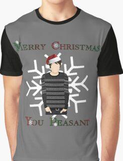 Merry Christmas You Peasant (danisnotonfire) Graphic T-Shirt