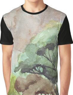 Storm over the bushveld Graphic T-Shirt