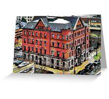 """City Hall"" Greeting Card"