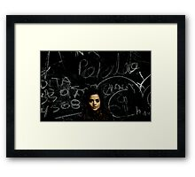 A Mystery Wrapped in an Enigma Framed Print