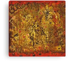 Ancient Wall Canvas Print
