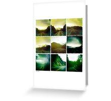 'Mountain Drive'  Greeting Card