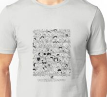 the peanuts movie characters Unisex T-Shirt