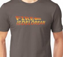 Fire up the DeLorean! Unisex T-Shirt