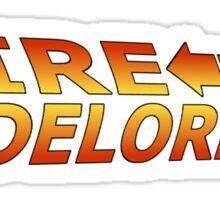 Fire up the DeLorean! Sticker