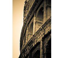 red sky roman Photographic Print