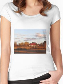 Rural living Women's Fitted Scoop T-Shirt