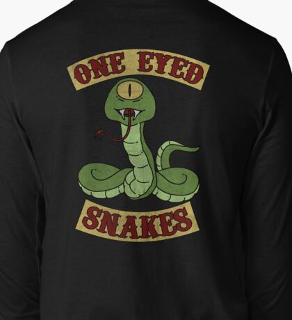 One Eyed Snakes Long Sleeve T-Shirt
