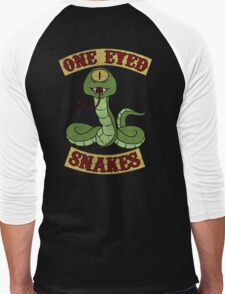 One Eyed Snakes Men's Baseball ¾ T-Shirt