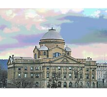 """""""The Courthouse"""" Photographic Print"""
