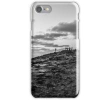 On the precipice iPhone Case/Skin