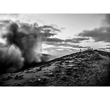 On the precipice Photographic Print