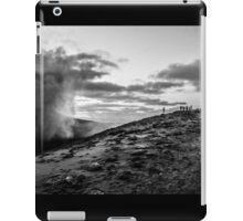 On the precipice iPad Case/Skin