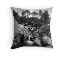 Mclarens Autumn Gorge Throw Pillow