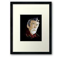 Doctor Who - The War Doctor Framed Print